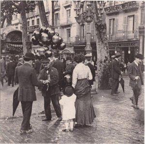 Barcelona. Canaletas 1910