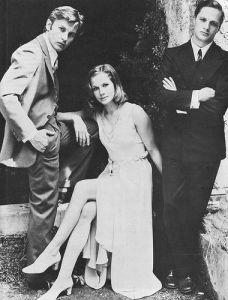 Helmut Berger, Dominique Sanda, Lino Capolicchio en la adaptación cinematográfica dirigida por Vittorio de Sica
