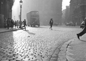 Francesc Català Roca: Via Laietana, Barcelona, 1950's