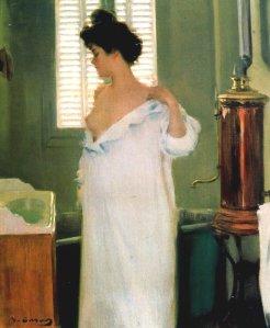 Antes del baño. Ramón Casas