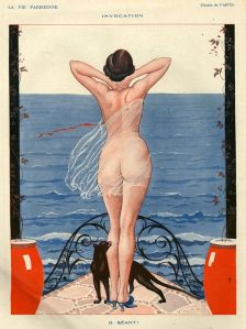 Ilustración de la revista La Vie Parisienne