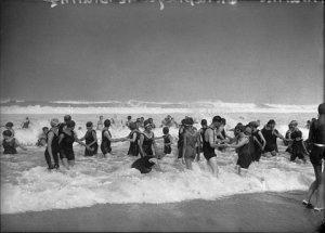 Playa de Biarritz 1924- Fotografía de Luis Ramón Marín