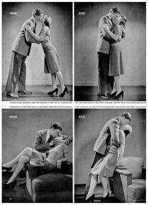 ¿Cómo besar? LIFE Magazine, 1942