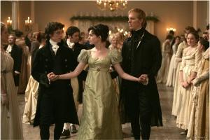 Escena de la película La joven Jane Austen