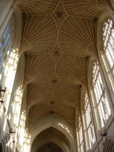 Bóveda de la abadía de Bath