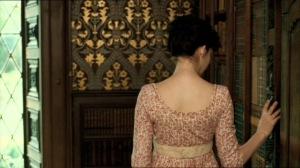 Anne Hathaway en la película La joven Jane Austen