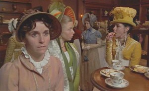 Escena de la película Persuasión 1995