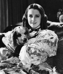 Norma Shearer en la película The Barretts of Wimpole Street (1934), fotografiada por George Hurrell.