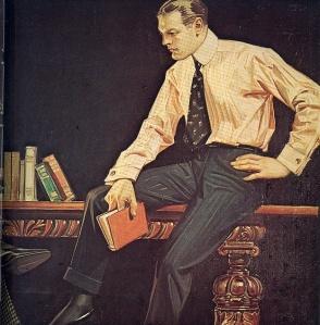 Ilustración de J.C Leyendecker