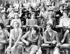 Clase de educación sexual en 1929