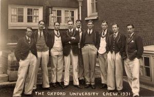 Oxford crew 1931-