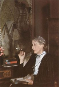 Fotografía de Virginia Woolf obra de Gisele Freund (Alemania,1908-2000)