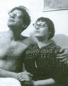 Allen Gingsberg y Elise Cowen